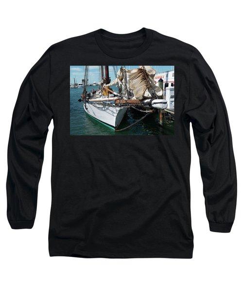 Key West Appledore Sailboat Long Sleeve T-Shirt
