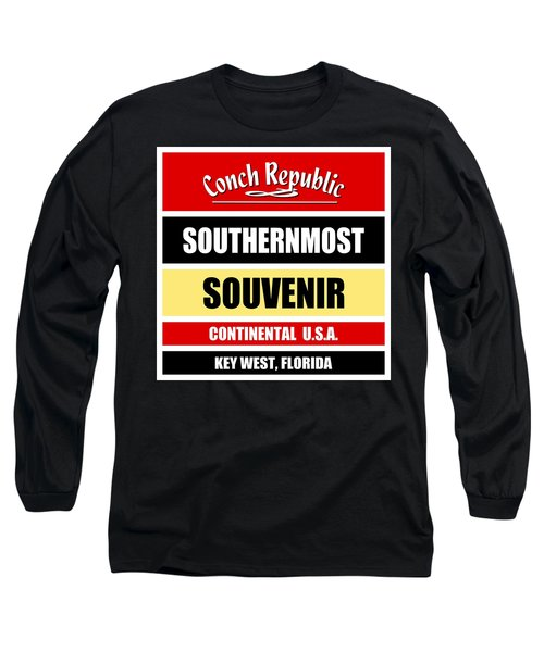 Key West Florida Southernmost Design Long Sleeve T-Shirt