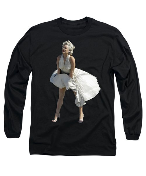Key West Marilyn - Special Edition Long Sleeve T-Shirt by Bob Slitzan