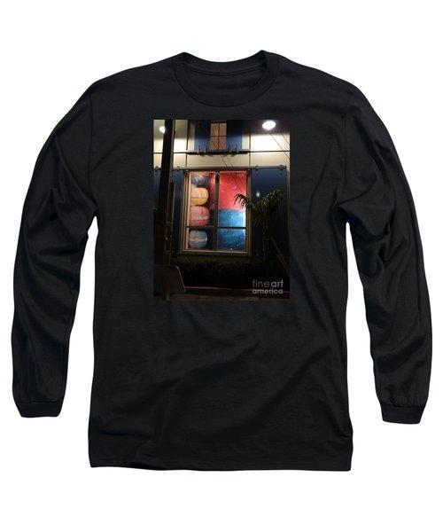 Key West Window Long Sleeve T-Shirt by Expressionistart studio Priscilla Batzell