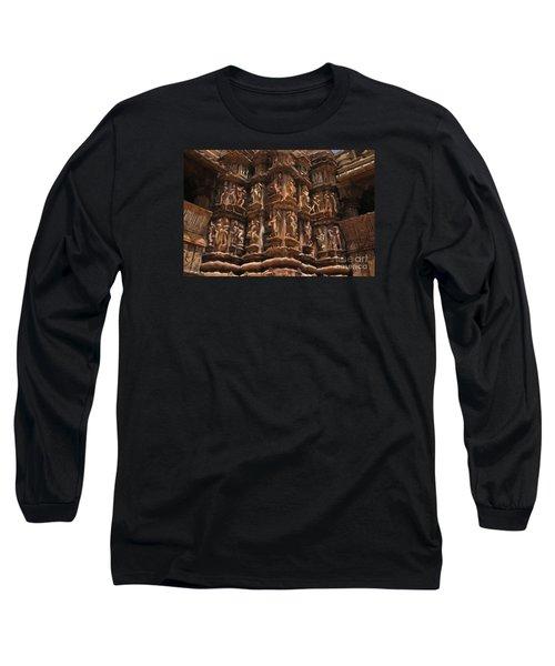 Khajuraho Temples 3 Long Sleeve T-Shirt