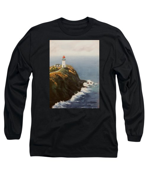 Kilauea Lighthouse Long Sleeve T-Shirt