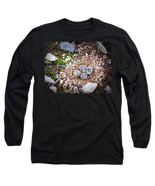 Killdeer Nest Long Sleeve T-Shirt