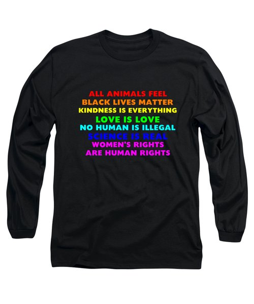 Kindness Is Everything Long Sleeve T-Shirt