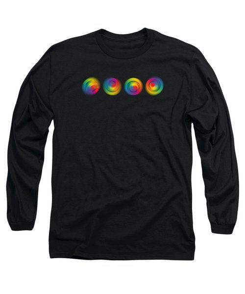Kinetic Colour Wheels Long Sleeve T-Shirt