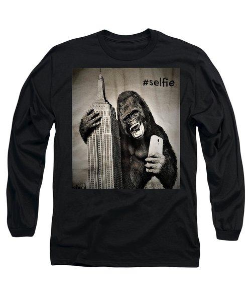 King Kong Selfie Long Sleeve T-Shirt