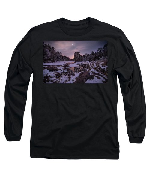 Long Sleeve T-Shirt featuring the photograph King Of Frost by Aaron J Groen