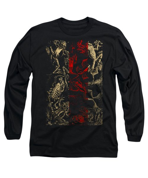 Kingdom Of The Golden Amphibians Long Sleeve T-Shirt by Serge Averbukh