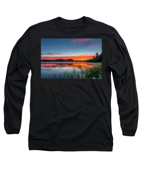 Kingston Lake Sunset Long Sleeve T-Shirt