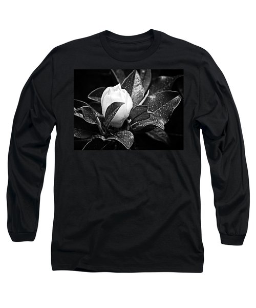 Long Sleeve T-Shirt featuring the photograph Kissed By Rain by Carolyn Marshall