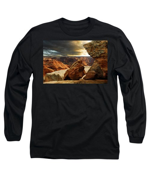 Long Sleeve T-Shirt featuring the photograph Kissing Rocks by Harry Spitz
