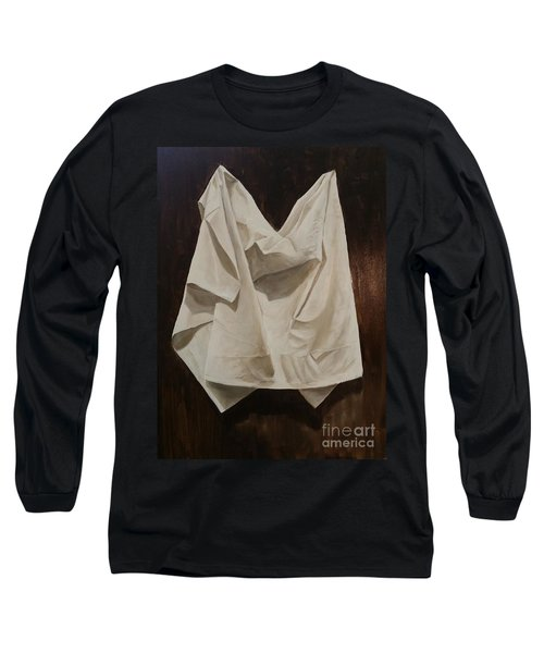 Painting Alla Rembrandt - Minimalist Still Life Study Long Sleeve T-Shirt