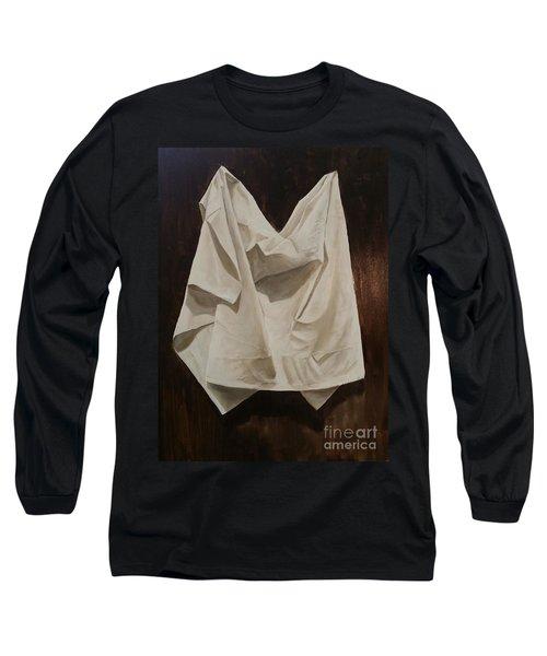 Painting Alla Rembrandt - Minimalist Still Life Study Long Sleeve T-Shirt