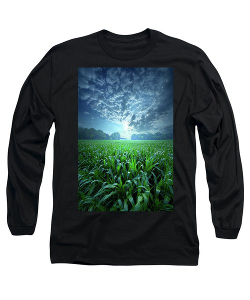 Long Sleeve T-Shirt featuring the photograph Knee High by Phil Koch