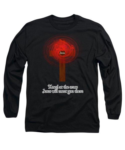Kneel At The Cross Long Sleeve T-Shirt