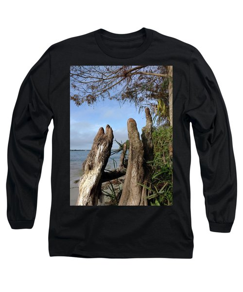 Knees Long Sleeve T-Shirt