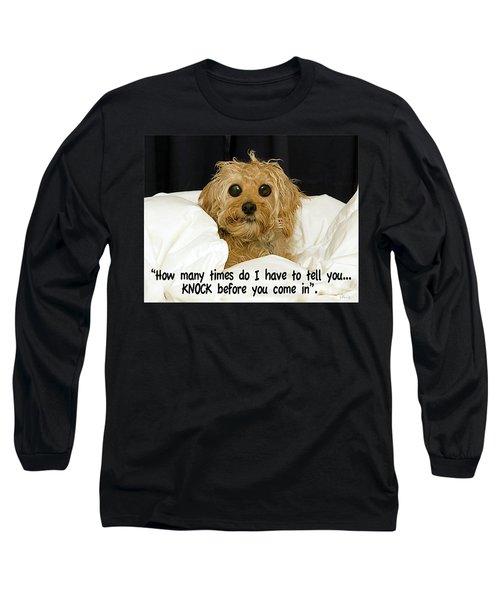 Knock Long Sleeve T-Shirt