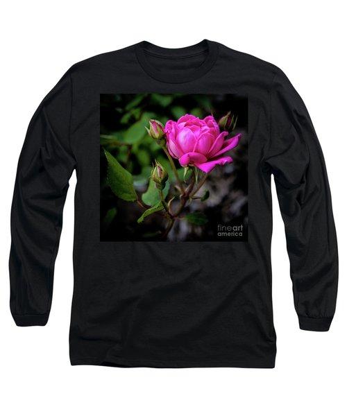 Knockout Rose Long Sleeve T-Shirt
