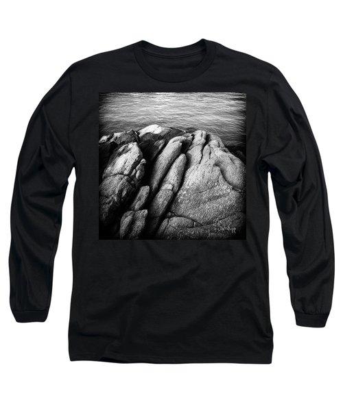 Ko Samet Rocks In Black Long Sleeve T-Shirt by Joseph Westrupp