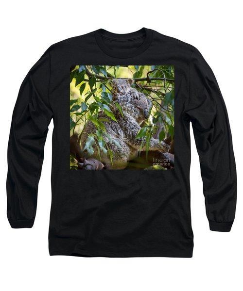 Koala Joey Long Sleeve T-Shirt by Jamie Pham