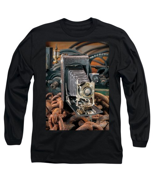 Long Sleeve T-Shirt featuring the photograph Kodak No. 3a Autographic Camera by Martin Konopacki