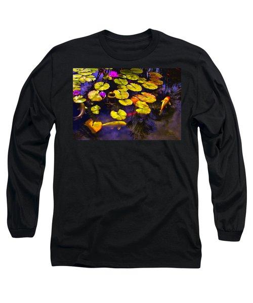Koi Pond Long Sleeve T-Shirt