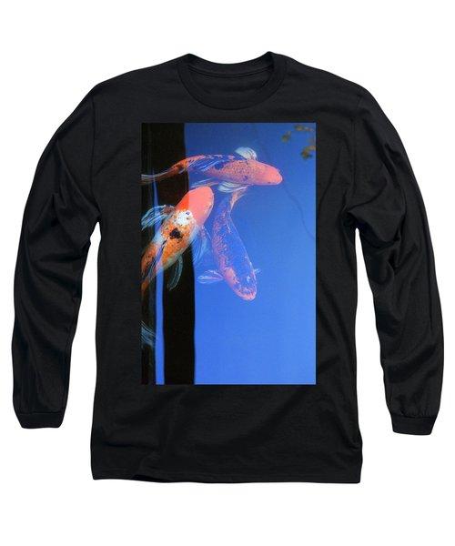 Koi Vi  Blue Long Sleeve T-Shirt