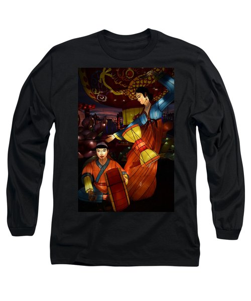 Korean Drummers Long Sleeve T-Shirt
