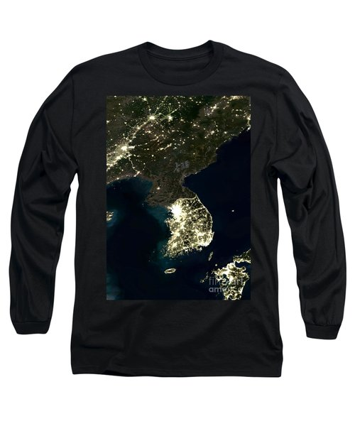 Korean Peninsula Long Sleeve T-Shirt