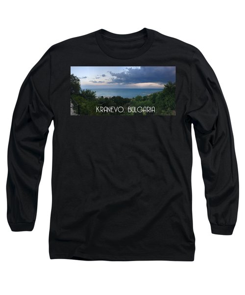 Kranevo Bulgaria Long Sleeve T-Shirt