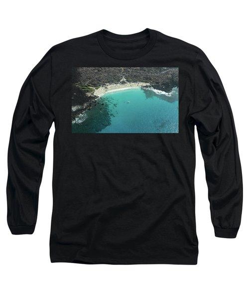 Kua Bay Aerial Long Sleeve T-Shirt