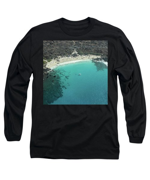Kua Bay Aerial Long Sleeve T-Shirt
