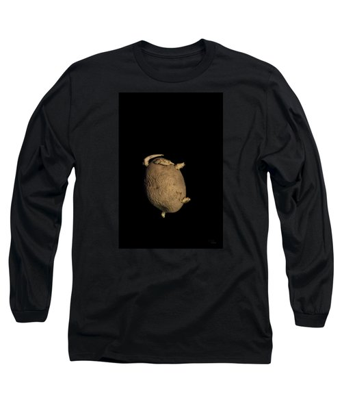 Long Sleeve T-Shirt featuring the photograph Kung-fu Potato by Raffaella Lunelli