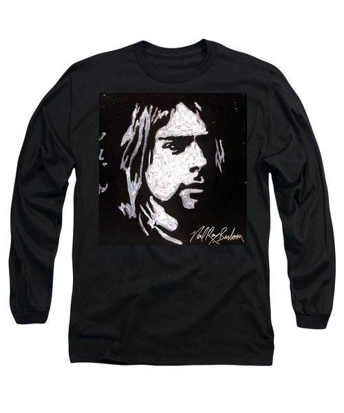 Kurt Kobain Long Sleeve T-Shirt