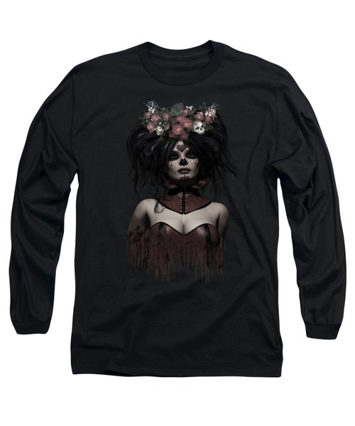 La Catrina Long Sleeve T-Shirt