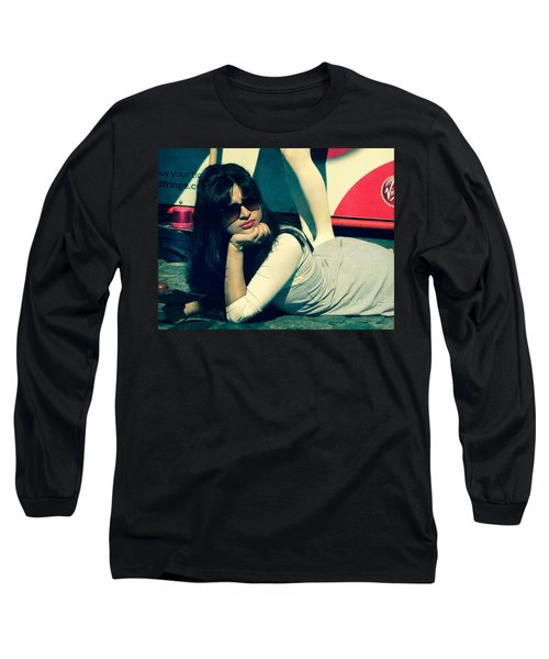 Long Sleeve T-Shirt featuring the photograph La Dolce Vita  by Paul Lovering