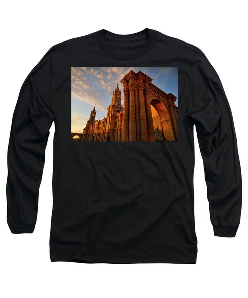 Long Sleeve T-Shirt featuring the photograph La Hora Magia by Skip Hunt