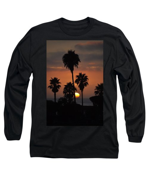 La Jolla Sunset Long Sleeve T-Shirt