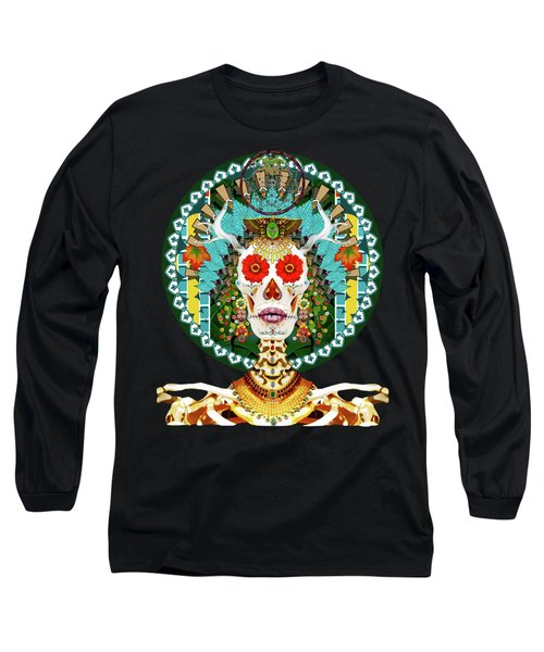 La Reina De Los Muertos Long Sleeve T-Shirt