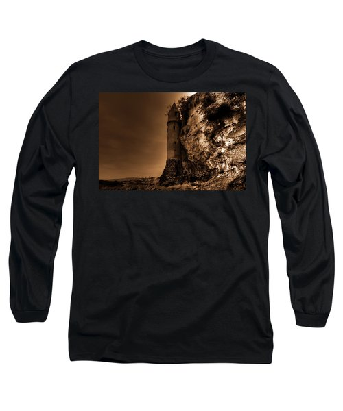 La Tour In Sepia Long Sleeve T-Shirt