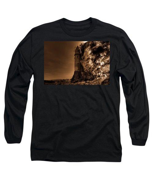 La Tour In Sepia Long Sleeve T-Shirt