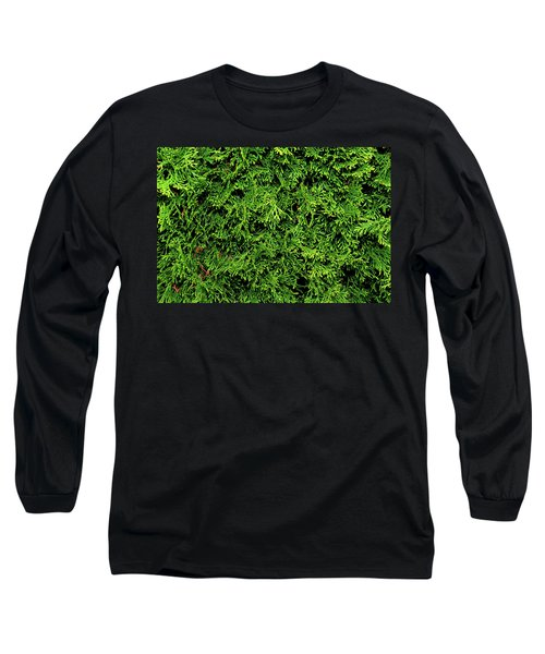 Life In Green Long Sleeve T-Shirt by Dorin Adrian Berbier