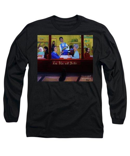 La Vie Est Belle Long Sleeve T-Shirt
