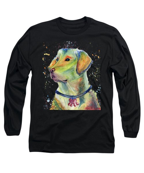 Labrador Retriever Art Long Sleeve T-Shirt