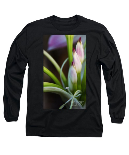 Laced In Satin Long Sleeve T-Shirt