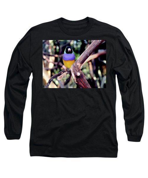 Lady Gouldian Finch Long Sleeve T-Shirt