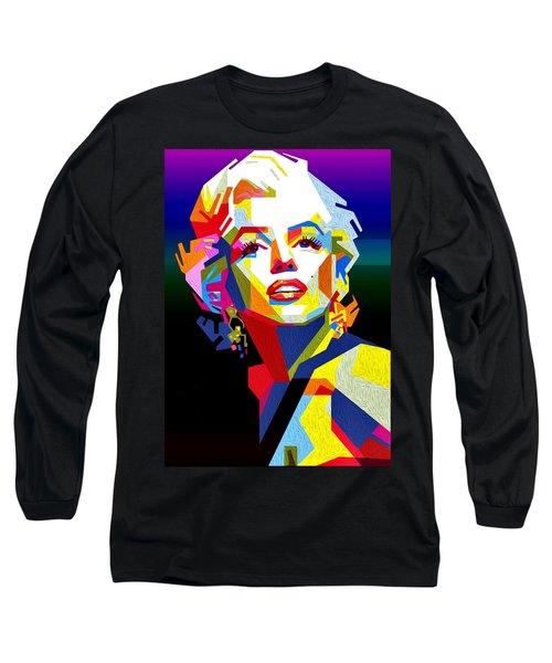 Lady Monroe Long Sleeve T-Shirt