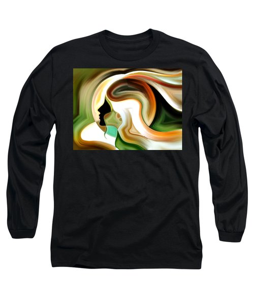 Lady Of Color Long Sleeve T-Shirt