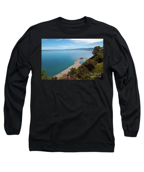 Lagoon Of Tindari On The Isle Of Sicily  Long Sleeve T-Shirt