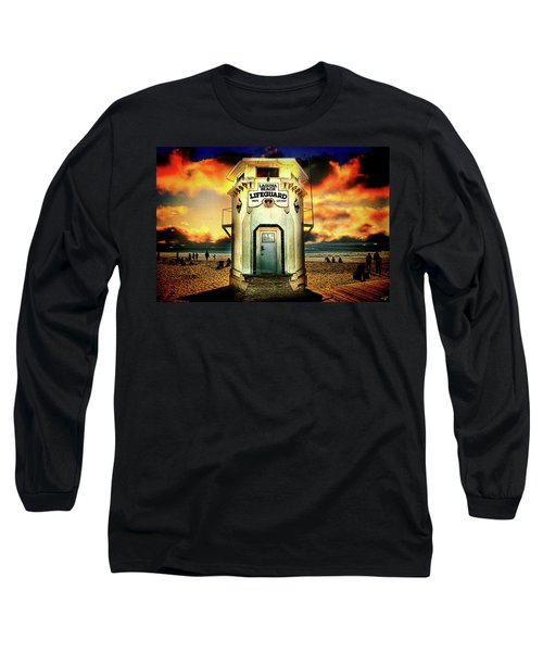 Laguna Beach Lifeguard Hq Long Sleeve T-Shirt